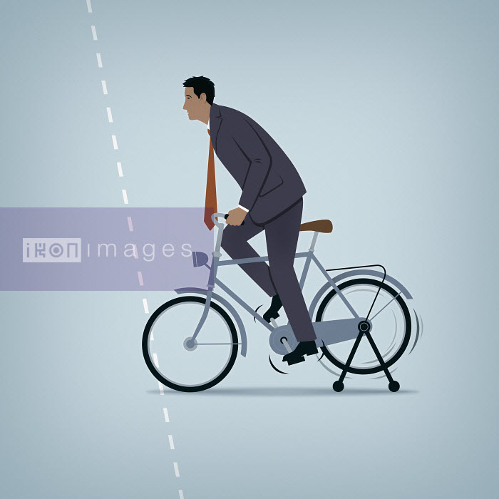 Mark Airs - Businessman stuck on the start line