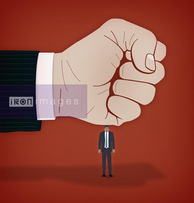Mark Airs - Businessman bullies an employee