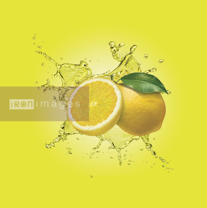 Dave Higginson - Water splashing around lemons
