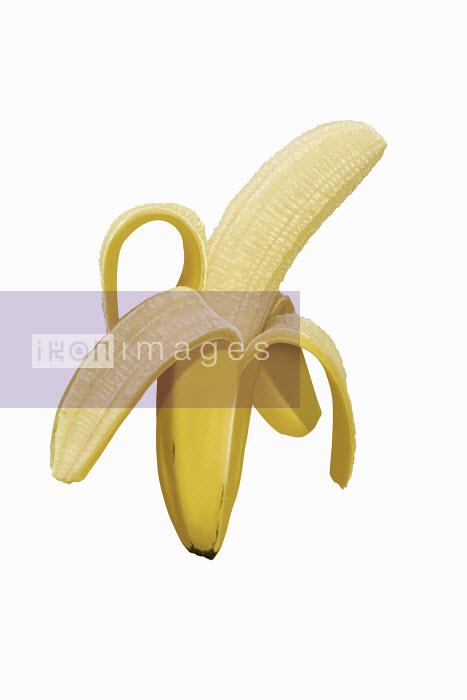 Dave Higginson - Close up of peeled banana