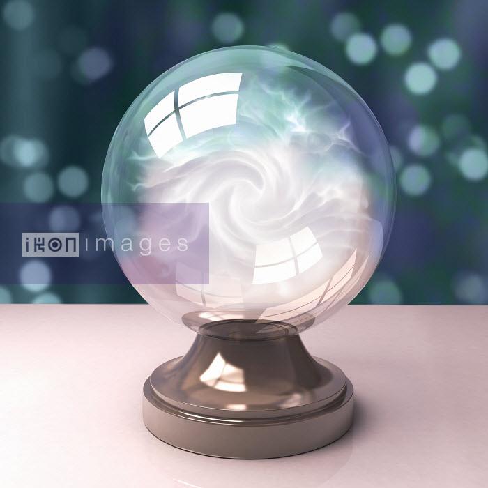 Dave Higginson - Fog inside crystal ball