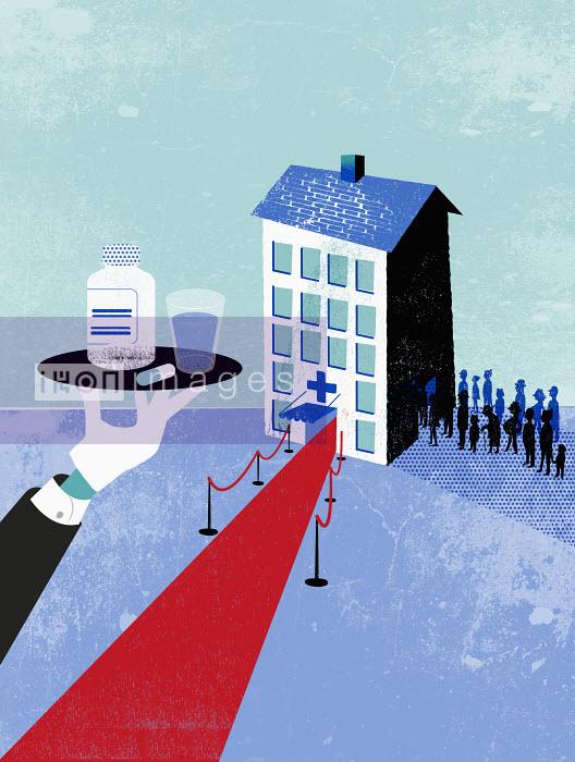 Hospital with V.I.P. line - Private health care - Jens Magnusson