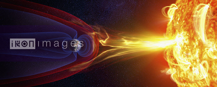 Earth's magnetic field and protection from the sun's solar flares and solar wind - Earth's magnetic field and protection from the sun's solar flares and solar wind - Ian Cuming