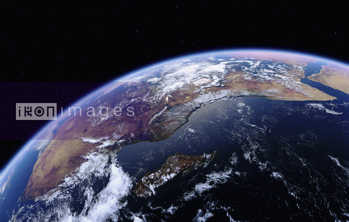East Africa, Madagascar and the Indian Ocean from space - Ian Cuming