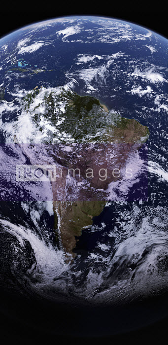 South America from space - Ian Cuming