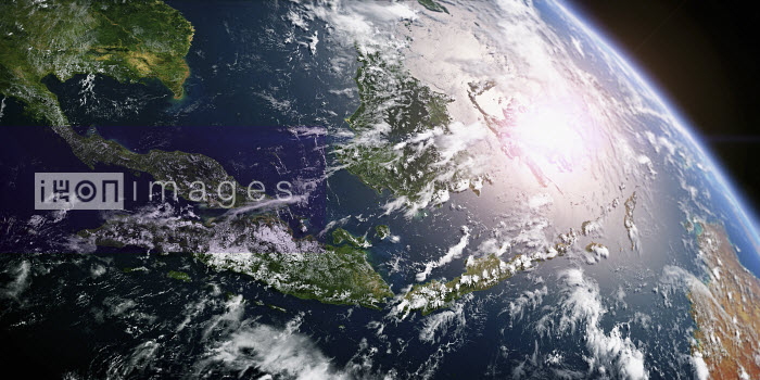 Southeast Asia from space - Ian Cuming