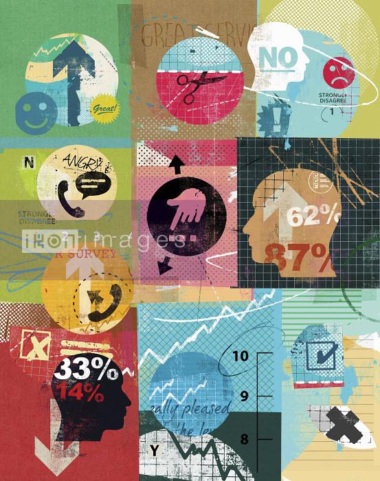 Collage of market research questionnaire surveys - Collage of market research questionnaire surveys - Stuart Kinlough