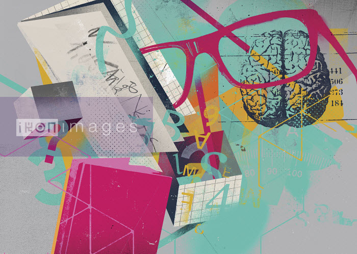 Knowledge and learning collage - Knowledge and learning collage - Stuart Kinlough