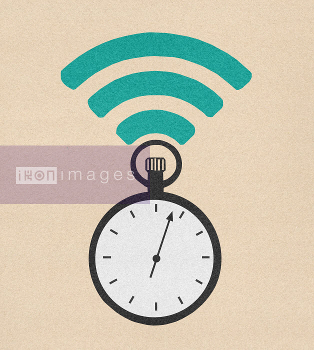 Wifi symbol above stopwatch - Wifi symbol above stopwatch - Marcus Butt