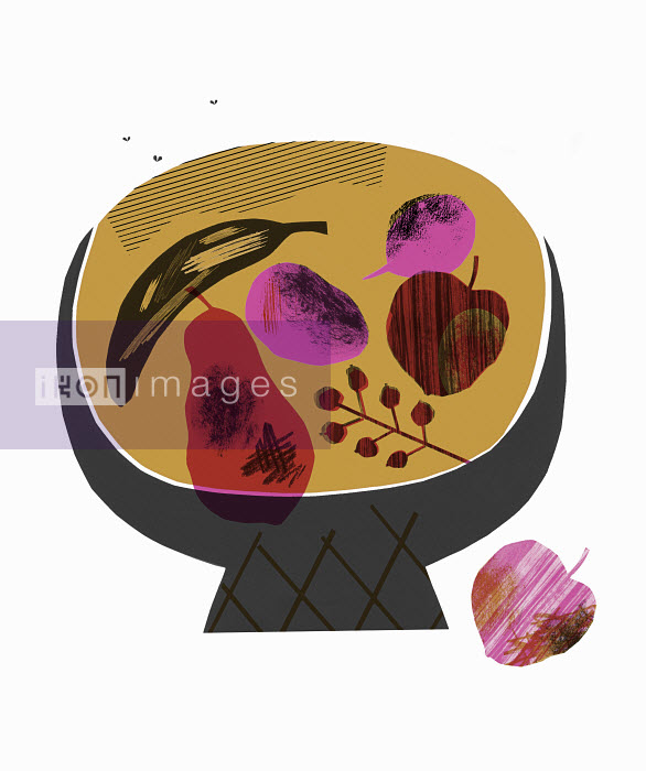 Fruit rotting in fruit bowl - Fruit rotting in fruit bowl - Stephanie Wunderlich