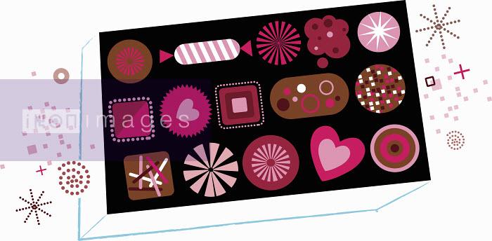 Box of Valentine's Day chocolates - Box of Valentine's Day chocolates - Kirsten Ulve