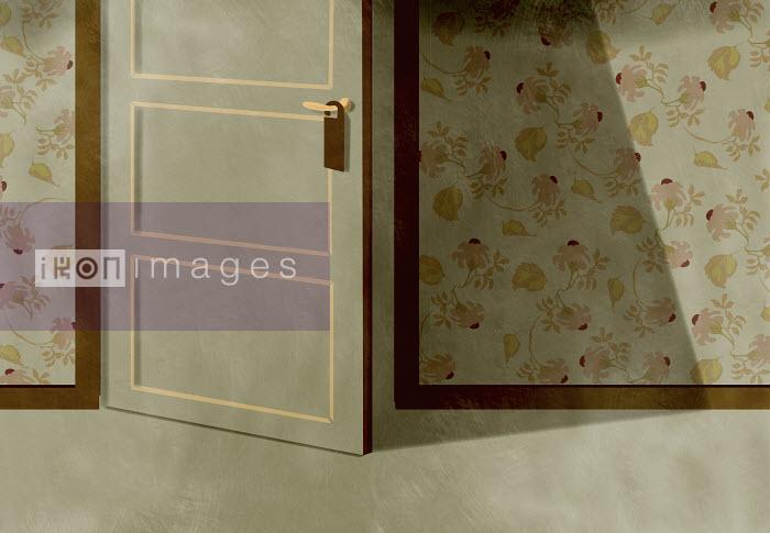 Do not disturb sign on door open ajar - Do not disturb sign on door open ajar - Giordano Poloni