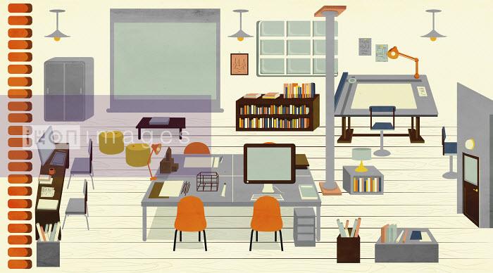 Vacant architect's design studio - Vacant architect's design studio - Giordano Poloni