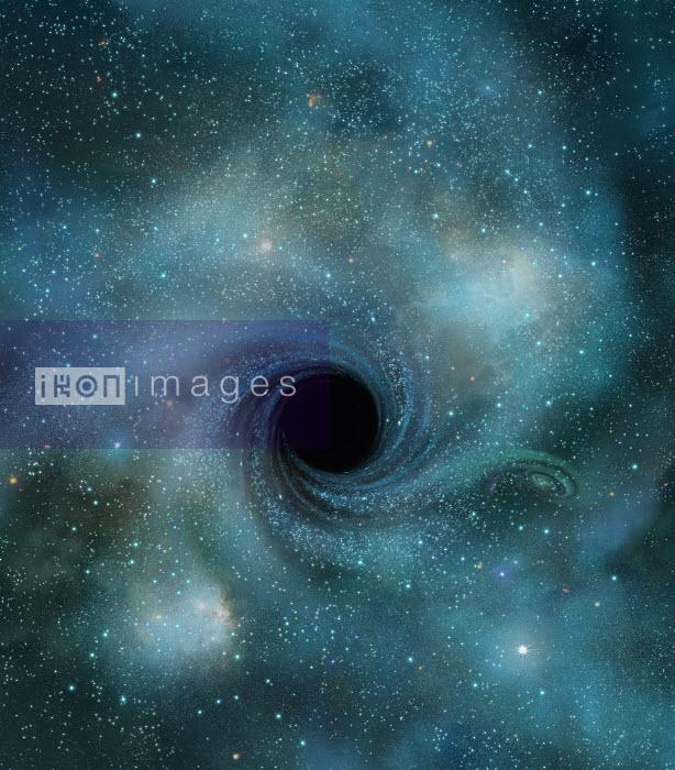 Black hole in outer space - Black hole in outer space - Derek Bacon