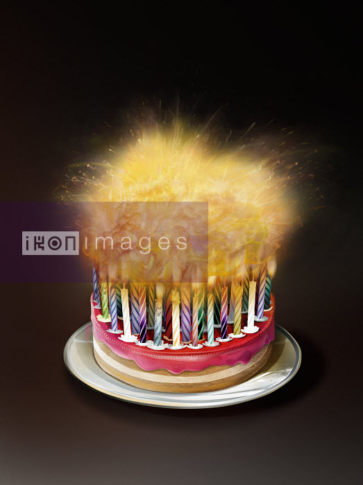 Groovy Stock Illustrations Highly Conceptual Images Ikon Images Lots Funny Birthday Cards Online Hendilapandamsfinfo