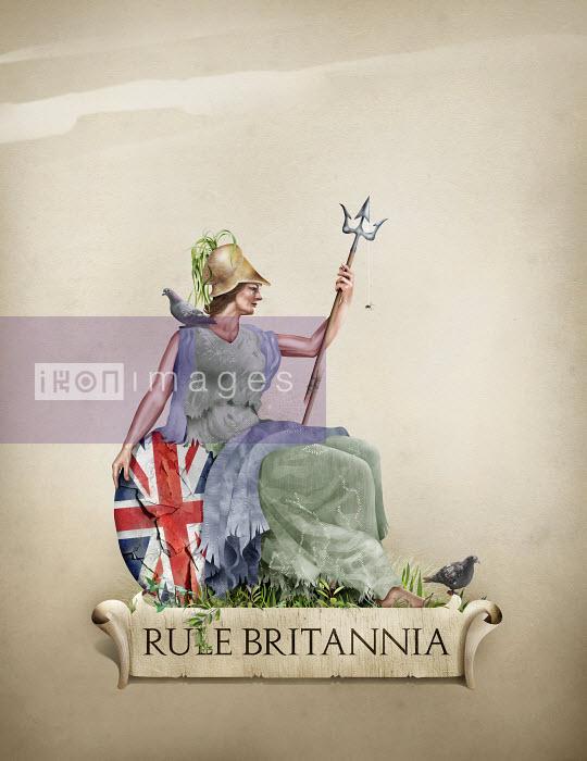 Rule Britannia ageing and in decline - Derek Bacon