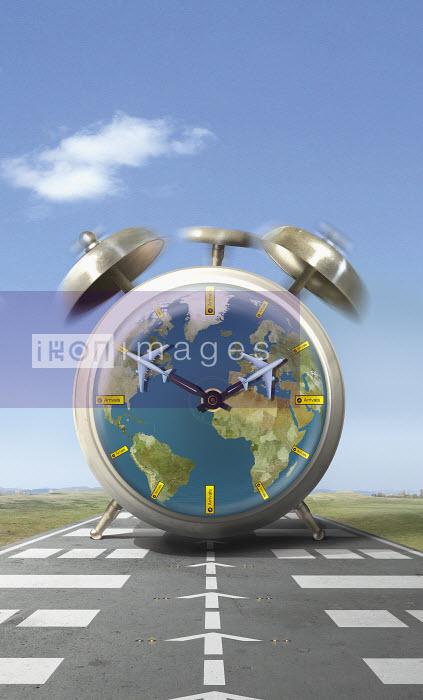 Global alarm clock for flight arrivals - Derek Bacon
