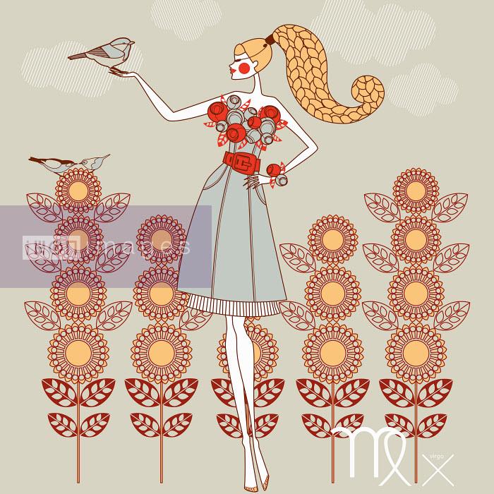 Fashion model as virgo zodiac sign - Yordanka Poleganova