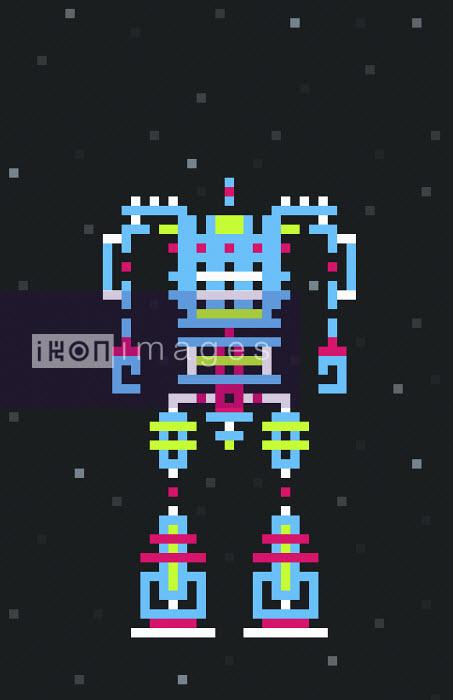 Pixelated robot - Pixelated robot - Chris Gilleard