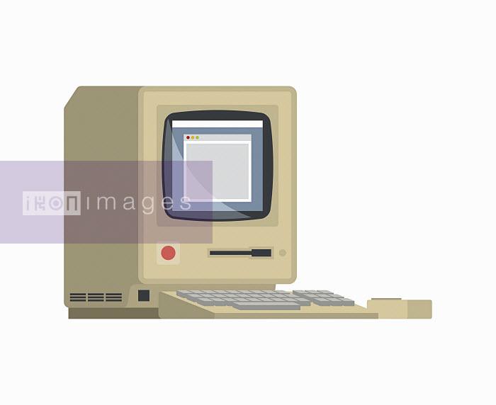 Retro desktop computer - Retro desktop computer - Chris Gilleard