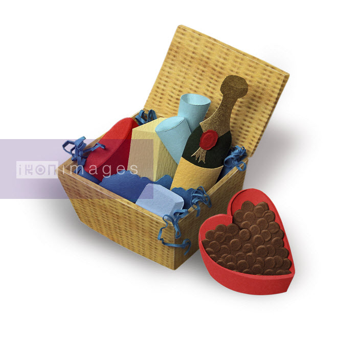 Romantic food hamper - Romantic food hamper - Gail Armstrong