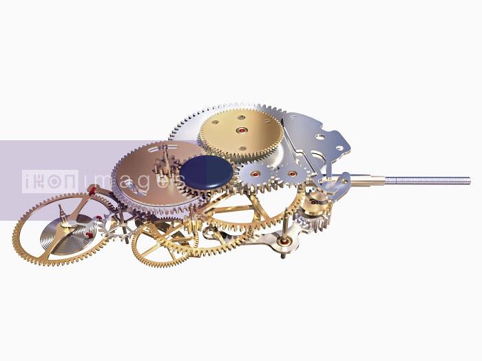 Shiny metal cog mechanism - Shiny metal cog mechanism - Ian Naylor