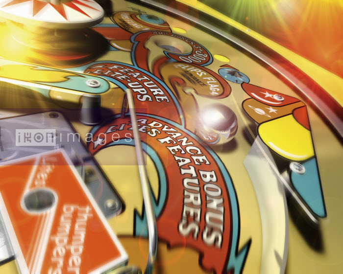Close up of pinball machine - Close up of pinball machine - Ian Naylor