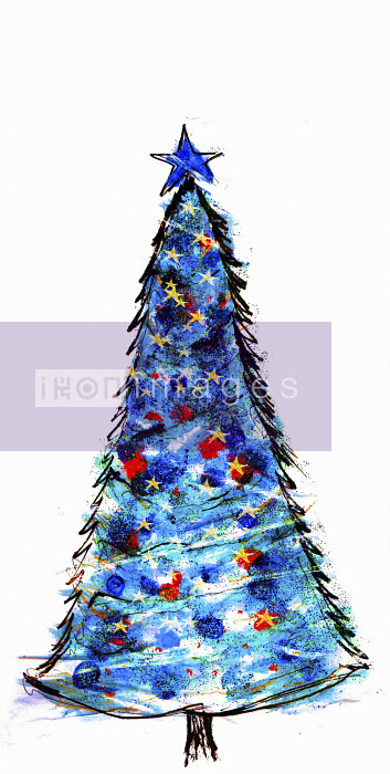 Blue Christmas tree - Blue Christmas tree - Lucia Emanuela Curzi