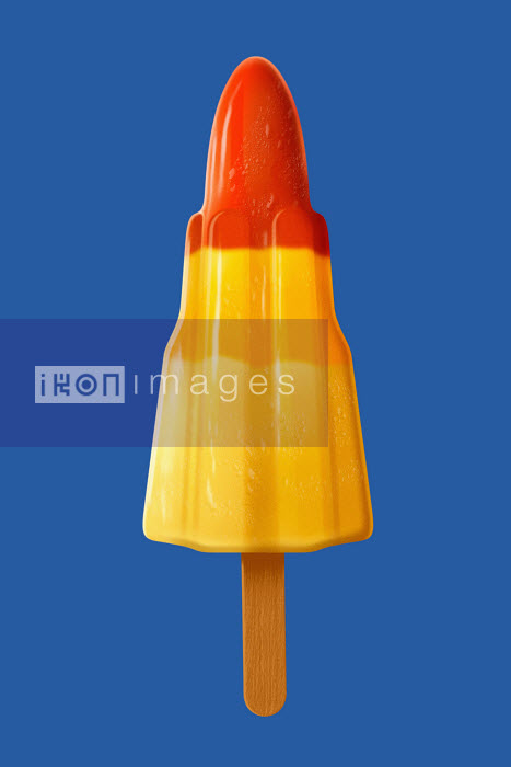 Rocket ice lolly - Rocket ice lolly - Barry Patterson