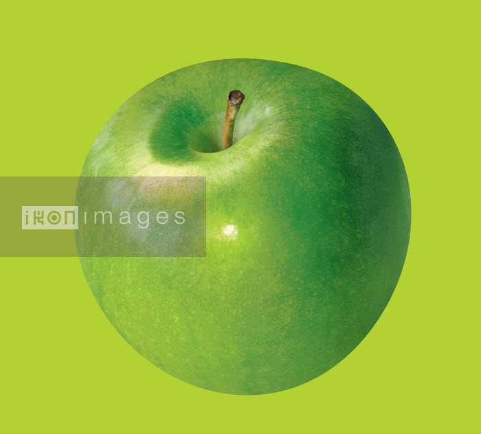 Close up of green apple - Close up of green apple - Barry Patterson