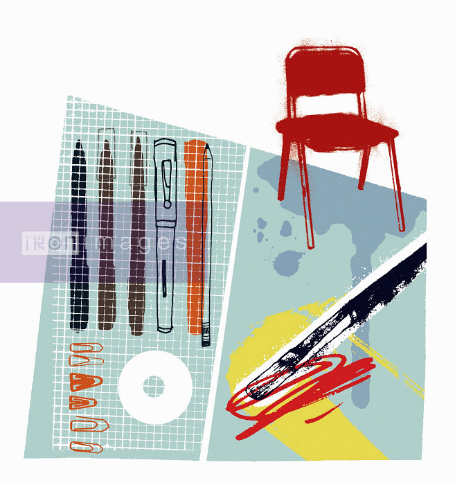 Graphic artist's pens and equipment - Graphic artist's pens and equipment - Kavel Rafferty