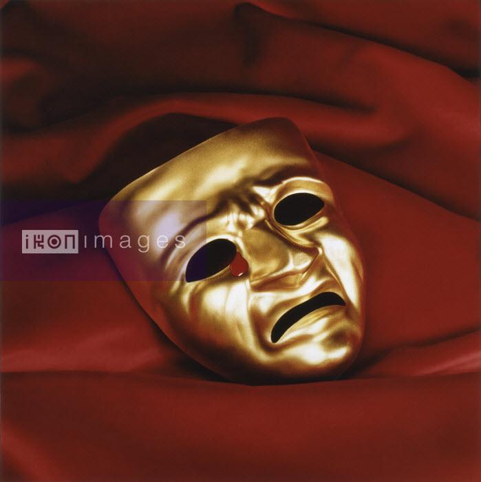 Tragedy mask crying tear of blood - Tragedy mask crying tear of blood - Pictorum
