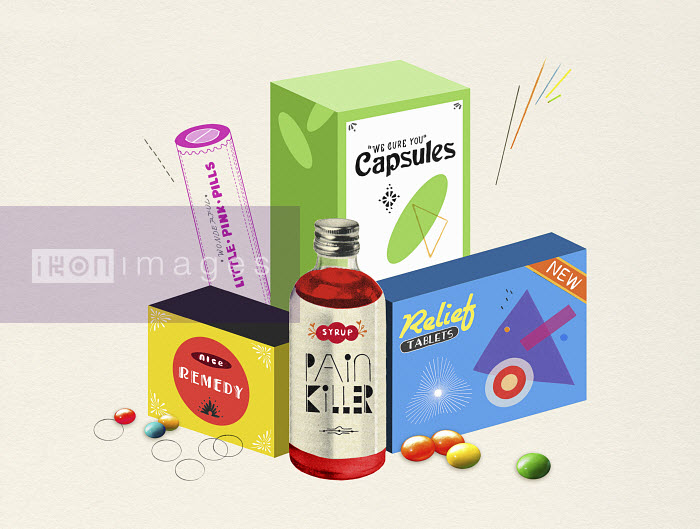 Valero Doval - Marketing packaging for pills and medicine