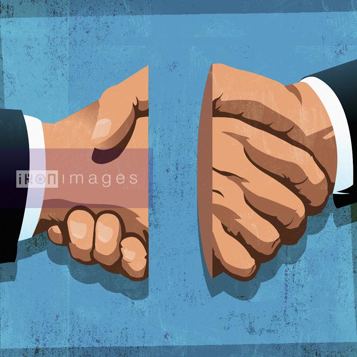 Broken handshake - Broken handshake - Taylor Callery