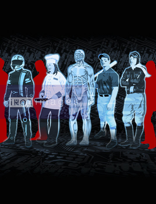 Five different avatars - Five different avatars - Taylor Callery