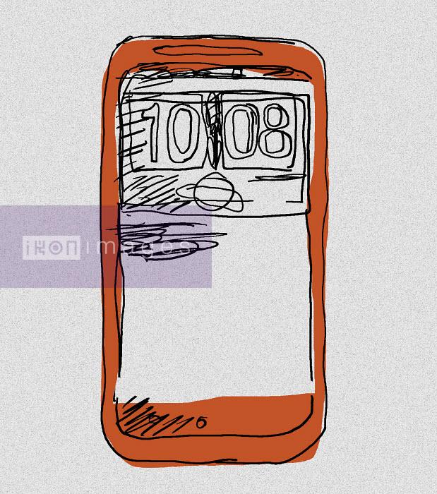 Display of a smartphone - Display of a smartphone - Huntley Muir