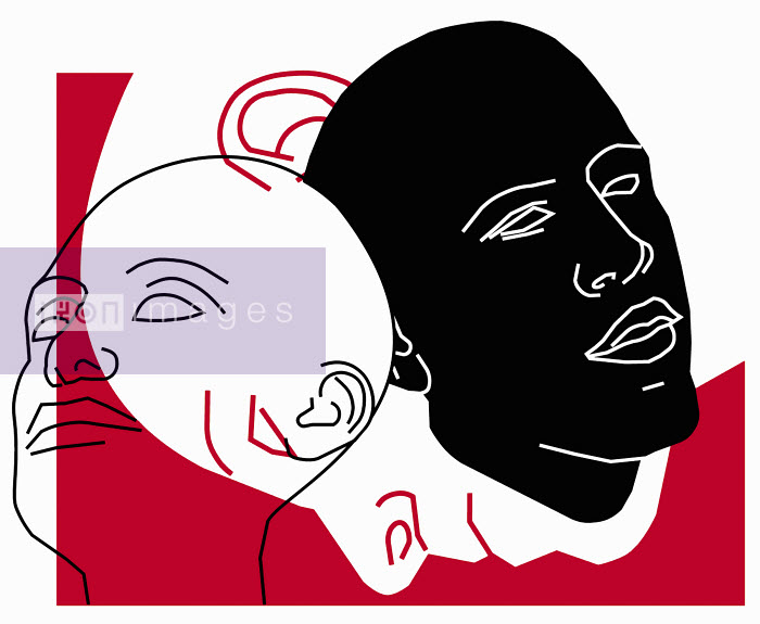 Three interdependent faces - Three interdependent faces - Otto Dettmer