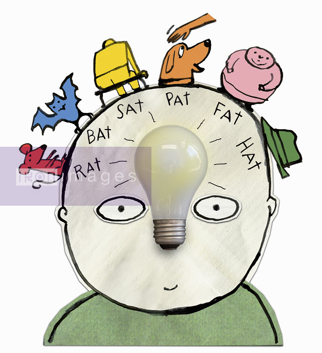 Child with light bulb and rhymes in his head - Child with light bulb and rhymes in his head - Roger Chouinard