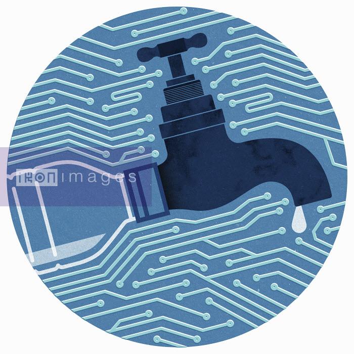 Water tap on circuit board - Water tap on circuit board - Mitch Blunt