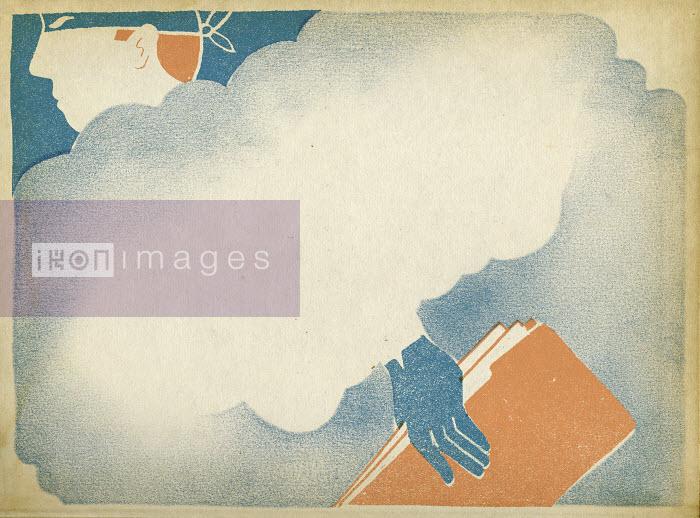 Thief behind cloud stealing file - Thief behind cloud stealing file - Sophie Casson