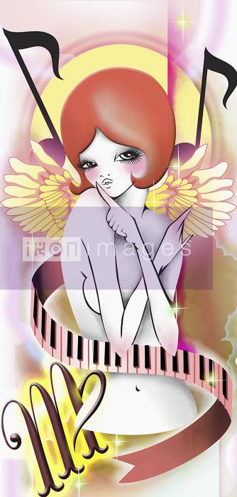 Alluring woman representing the zodiac Virgo - Alluring woman representing the zodiac Virgo - Saeko Ozaki