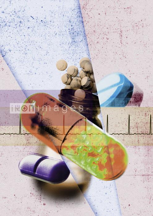 Assorted prescription pills - Assorted prescription pills - Neil Leslie