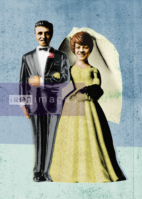 Bride and groom - Bride and groom - Neil Leslie