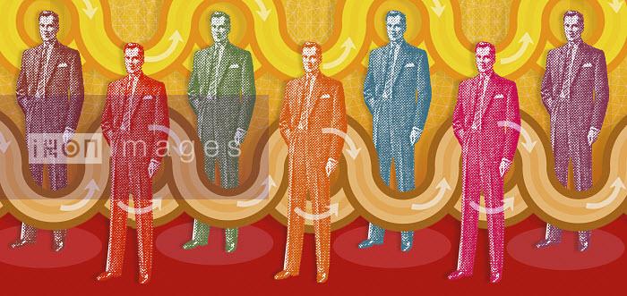 Businessmen standing together - Businessmen standing together - Matt Herring