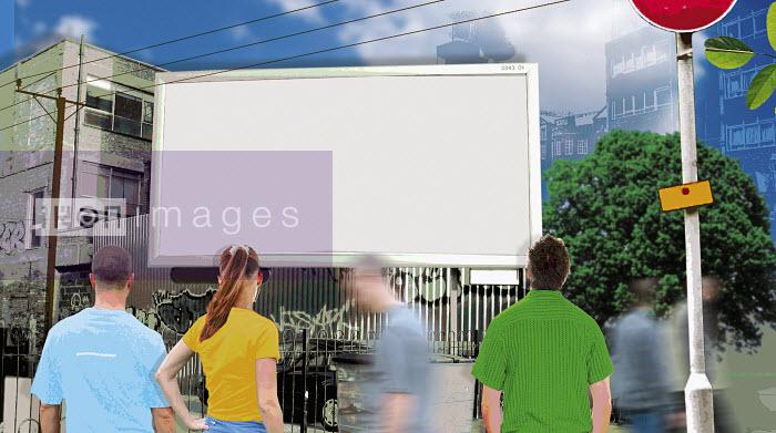 Blank urban billboard - Blank urban billboard - Matt Herring