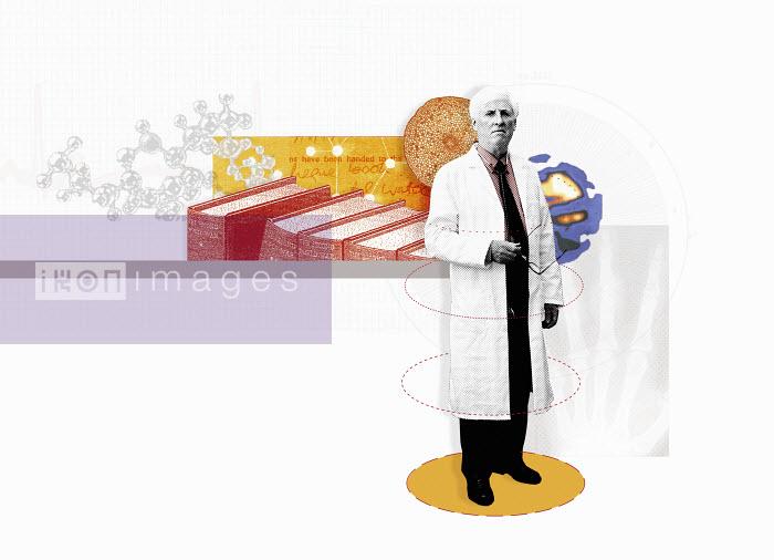Portrait of confident scientist - Portrait of confident scientist - Matt Herring