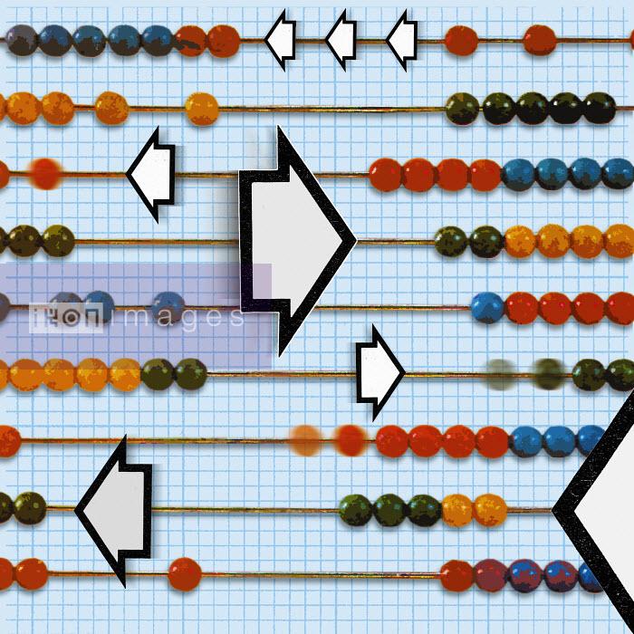 Arrows among globes on abacus - Arrows among globes on abacus - Matt Herring