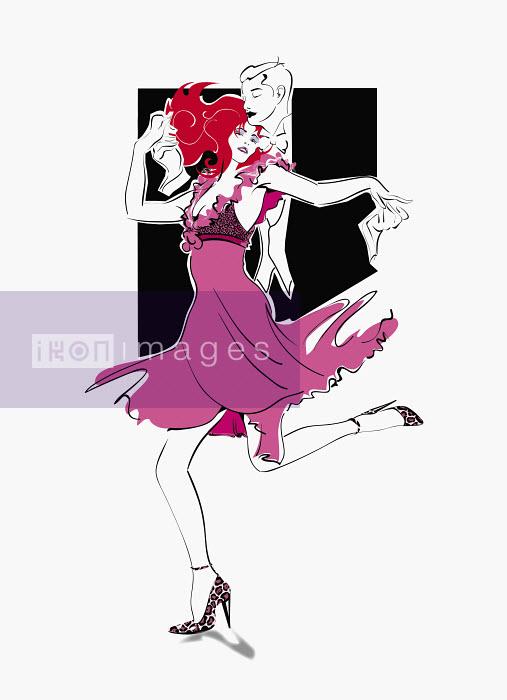 Romantic couple dancing - Romantic couple dancing - Conny Jude