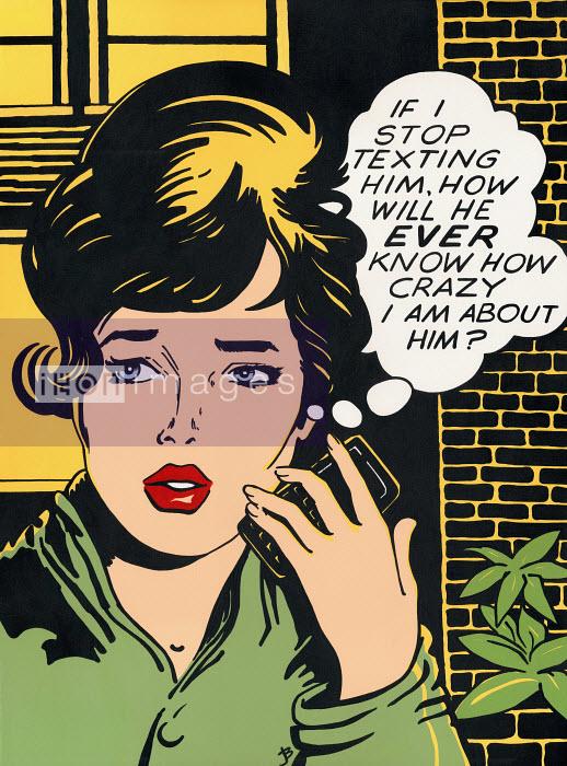 Worried woman - Worried woman - Jacquie Boyd