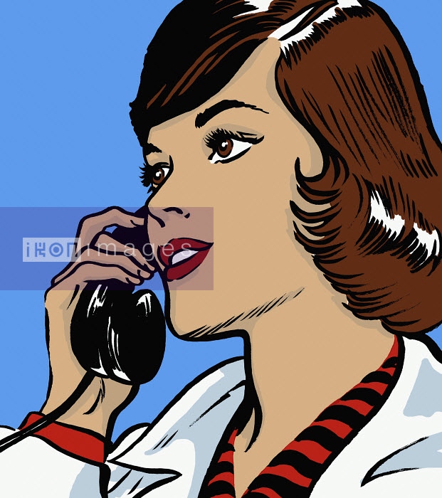 Doctor talking on telephone - Doctor talking on telephone - Jacquie Boyd